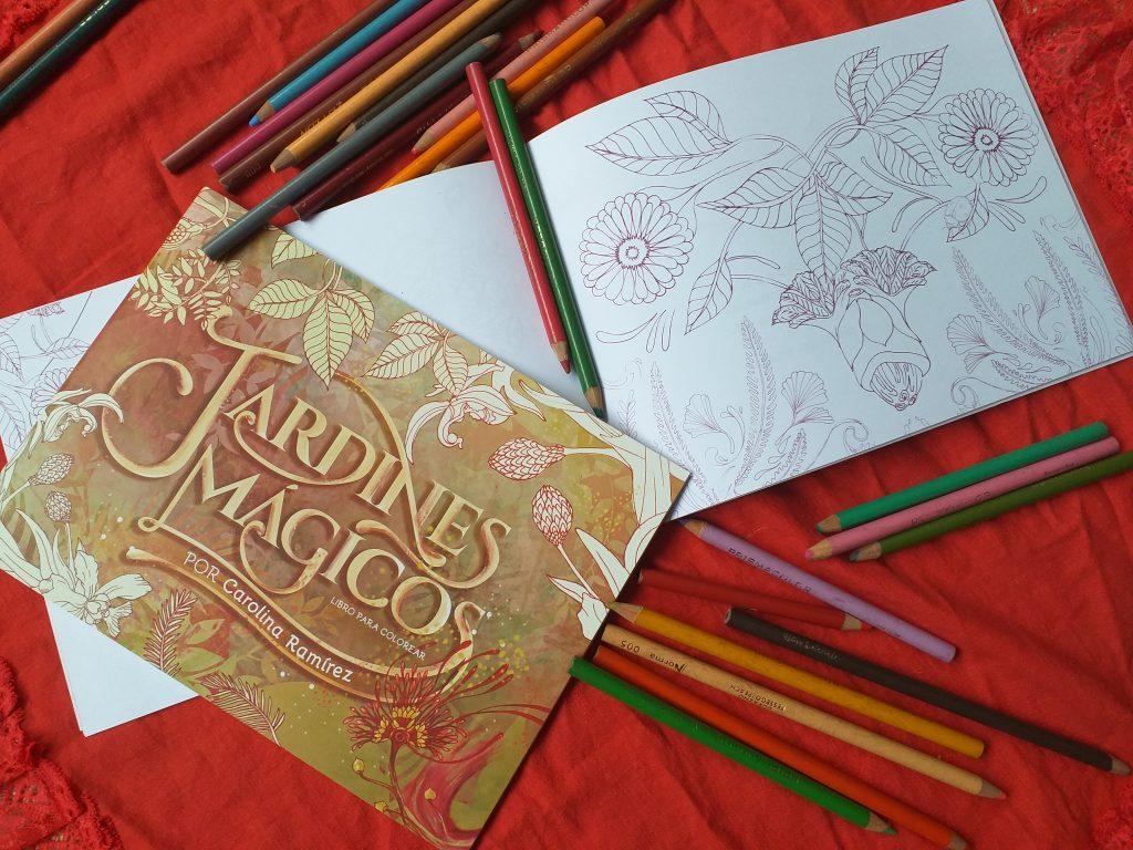Proyecto literario Jardines mágicos