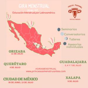 educación menstrual, educadoras menstruales, menstruación sin tabú